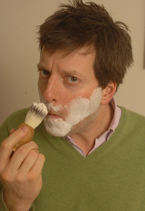 Stubble trouble: William experiments with the Maca root cream