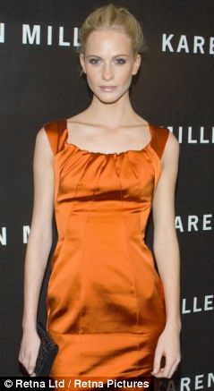 Model look: Poppy Delevingne