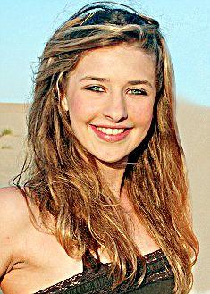 Star in the making: TV presenter Andrew Castle's daughter Georgina