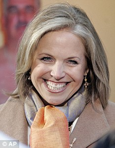 Also in the running: CBS anchor Katie Couric is also said to be considering the £1.4 million price tag