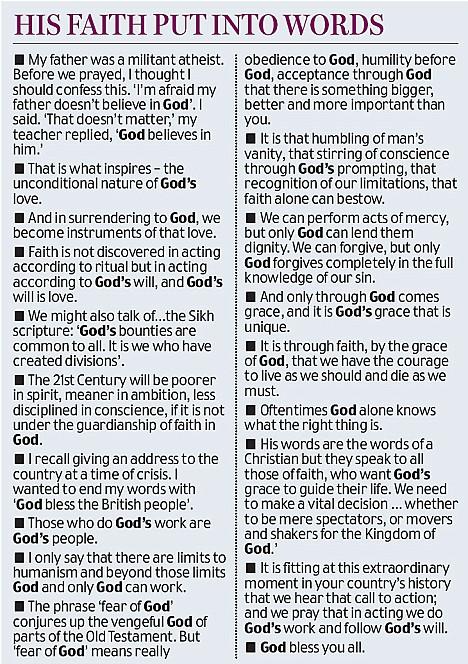 Blair and God