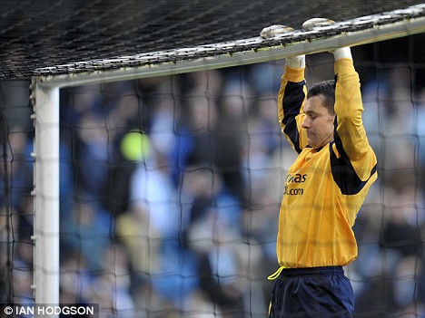 Raising the bar: £7.5 million goalkeeper Shay Given excelled on his Manchester City debut against Middlesbrough