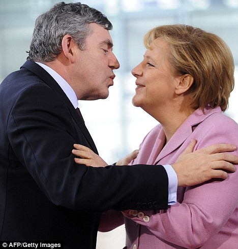 Merkel and Brown