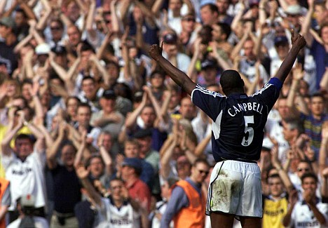 Sol Campbell of Spurs