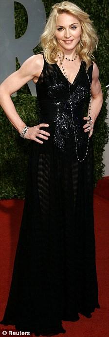 Madonna at the Oscars