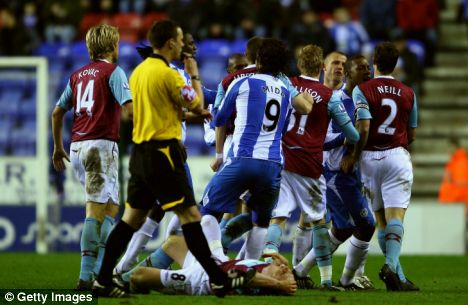 West Ham and Wigan