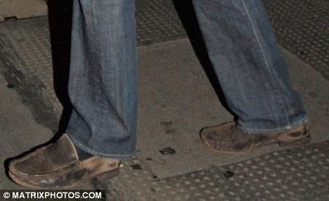 William's shoes
