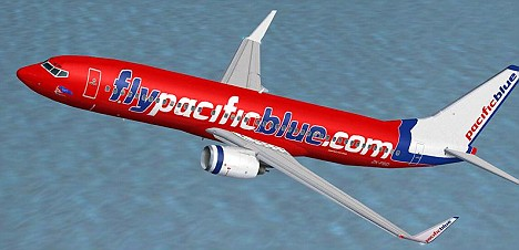 A woman has allegedly abandoned her baby after giving birth to it in the toilet of a Pacific Blue plane