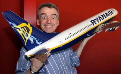 Ryanair's outspoken boss Michael O'Leary