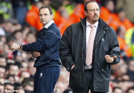 martin oneill and rafa benitez