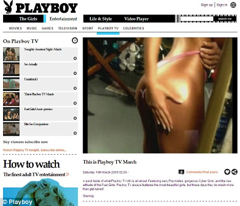 Playboy channel
