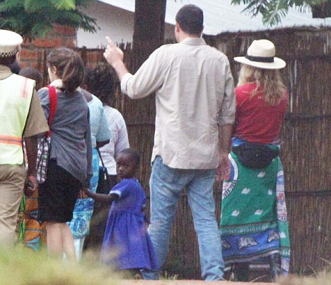 Madonna Lourdes Mercy James Home of Hope orphanage in Michinji, Malawi