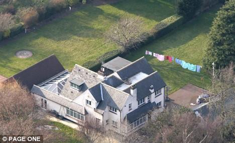 Geoff Hoon's Derby home