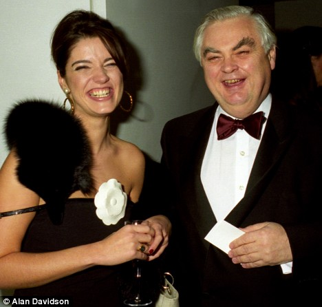 Petronella Wyatt with Norman Lamont
