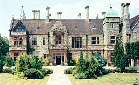 Luxury accommodation: Jacko is renting the 28-bedroom Foxbury Manor for his Farewell tour
