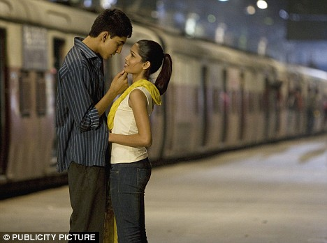 Dev Patel and Freida Pinto in 'Slumdog Millionaire'. Channel 4 was behind the smash-hit film