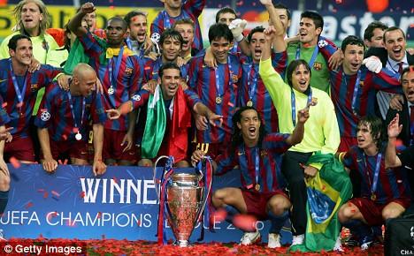 Barcelona's Champions League victors of 2006