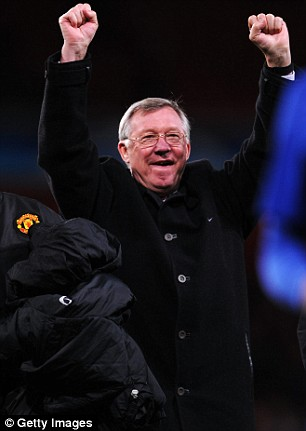 When in Rome: United boss Sir Alex is relishing the final in the Italian capital