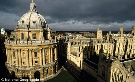 World-famous: Dons at the Bodleian told students they did not want to interfere with the 'historic' positions of the books