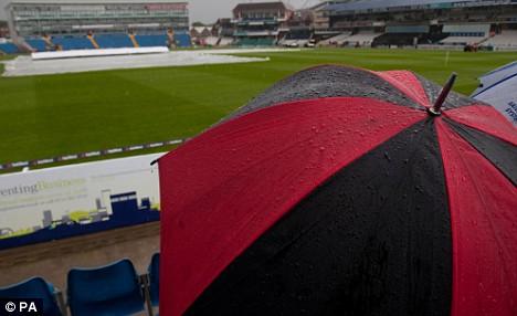 wet weather in Leeds