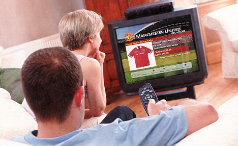 Terrestrial broadcasters such as ITV and Channel 4 have been given the go-ahead to run late-night shopping and gambling programmes
