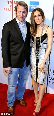 Sarah Jessica Parker Matthew Broderick Wonderful World premiere New York 27 April 2009