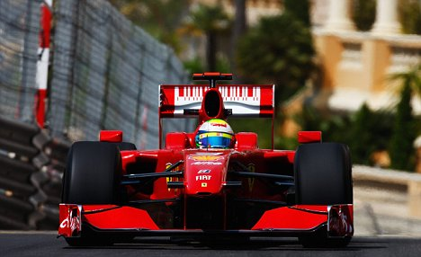 Still in the running: Ferrari's Felipe Massa