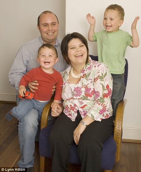 Ursula Hirschkorn, 35, who lives in London with her husband Mike and their two sons, Jacob, 3, and Max, 1