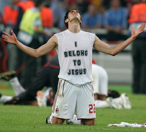 Real deal: Chelsea never had a prayer of luring Kaka