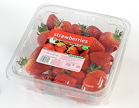 Bargain berries: Lidl strawberries cost just 99p and were awarded four stars for taste, appearance and aroma