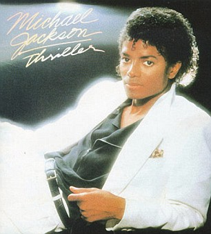 Thriller: First released in 1982 it became the biggest selling album of all time