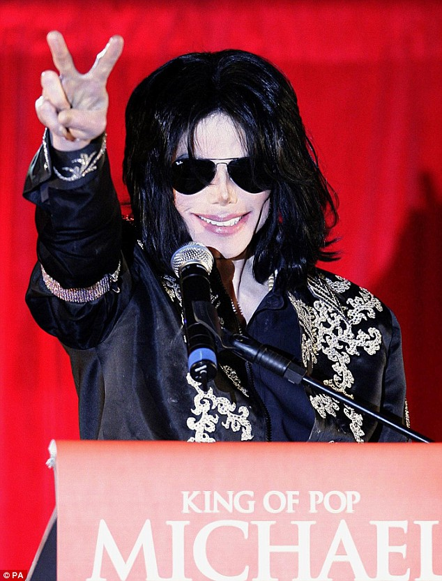 Comeback: Tickets sold out after Michael announced he would perform at the O2 arena