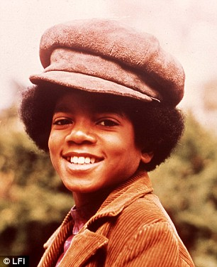 Child star: Michael first found fame aged five with his brothers in The Jackson Five