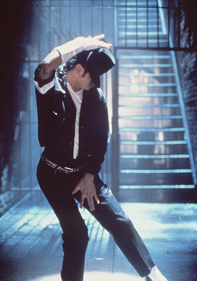 Smooth mover: His dance moves including the famous moonwalk became legendary