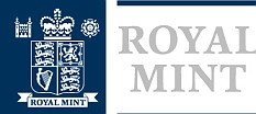Logo for the royal Mint.