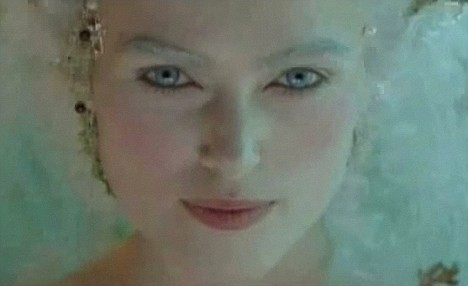 Keira Knightley as a fairy in the short film - The Continuing And Lamentable Saga Of The Suicide Brothers