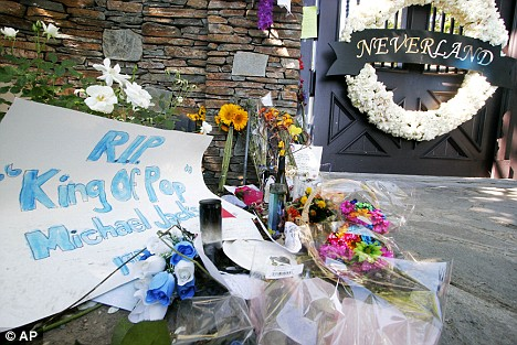 The Neverland Ranch has already become a shrine for Jackson fans, in the same way Graceland became  a shrine for Elvis fans