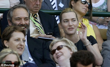 Star attraction: British actress Kate Winslet and husband Sam Mendez