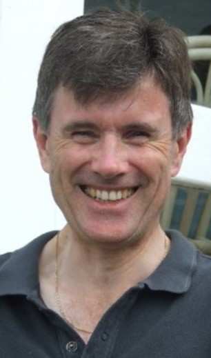 Sir John Sawers pictured on his wife's Facebook page