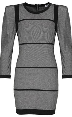 Undated George at Asda handout photo of a silver mini-dress similar to a designer dress worn by Kate Moss which retails at £16.