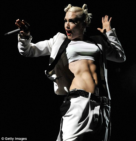 Gwen Stefani of the rock band No Doubt performs at the Gibson Amphitheatre on July 22, 2009