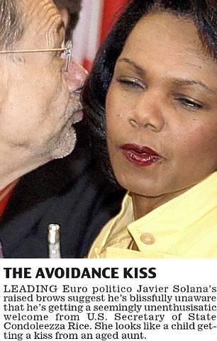 the avoidance kiss