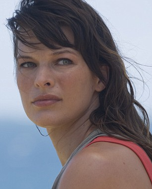 Milla Jovovich in A Perfect Getaway