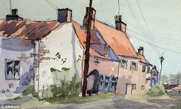 Norfolk watercolour by Keiron Williamson, six