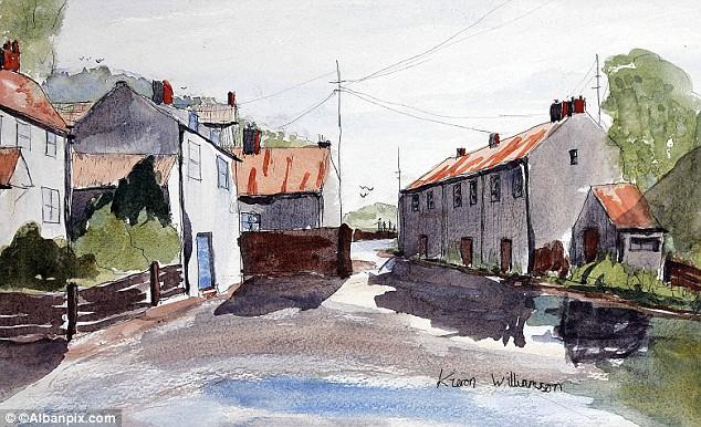 Kieron Williamson watercolour