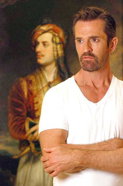 Following in those scandalous footsteps: Rupert Everett in the Byron series