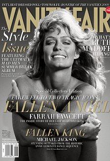Farrah Fawcett Vanity Fair cover