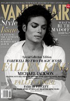 Michael Jackson Vanity Fair cover