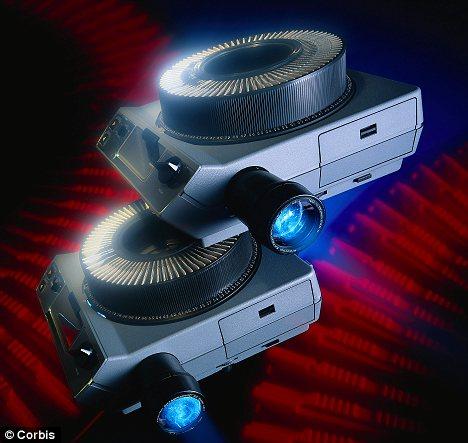 slider projectors