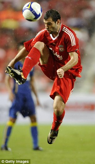 Liverpool star Javier Mascherano